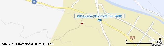 大分県国東市武蔵町手野1196周辺の地図