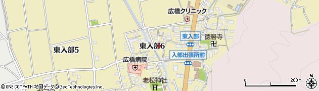 福岡住環周辺の地図