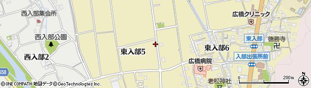 福岡県福岡市早良区東入部周辺の地図