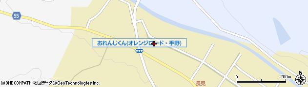 大分県国東市武蔵町手野長見周辺の地図