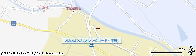 大分県国東市武蔵町手野1037周辺の地図