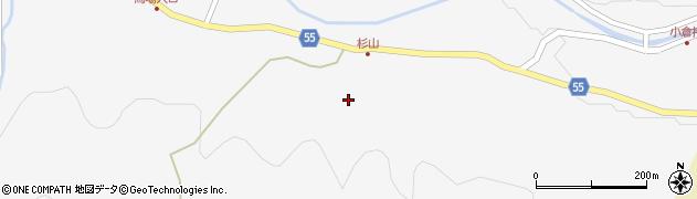 大分県国東市武蔵町吉広杉山周辺の地図