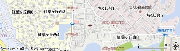 福田建設周辺の地図