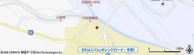大分県国東市武蔵町手野1074周辺の地図