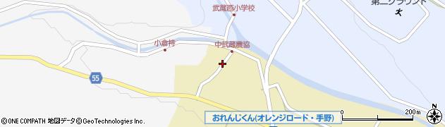 大分県国東市武蔵町手野1052周辺の地図