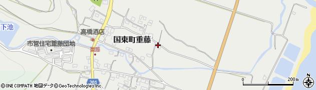 大分県国東市国東町重藤679周辺の地図