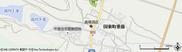 大分県国東市国東町重藤227周辺の地図