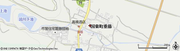大分県国東市国東町重藤382周辺の地図