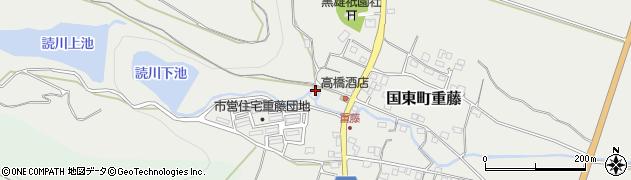 大分県国東市国東町重藤224周辺の地図