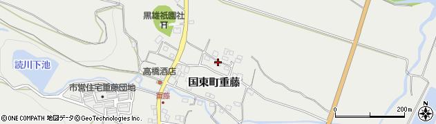 大分県国東市国東町重藤309周辺の地図