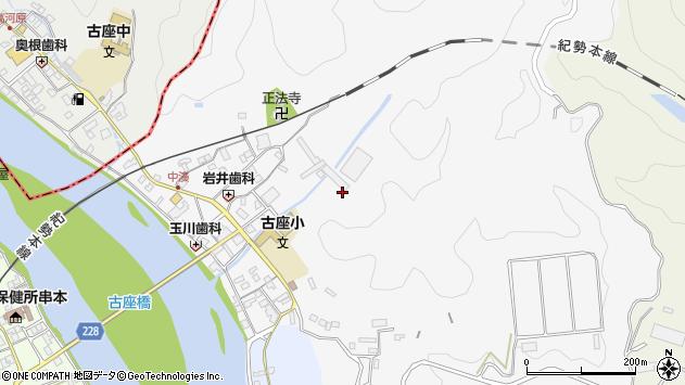 〒649-4116 和歌山県東牟婁郡串本町中湊の地図