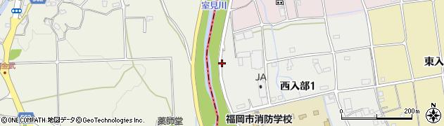 福岡県福岡市早良区金武周辺の地図