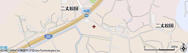 福岡県糸島市二丈松国周辺の地図