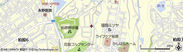 福岡県福岡市南区柏原周辺の地図