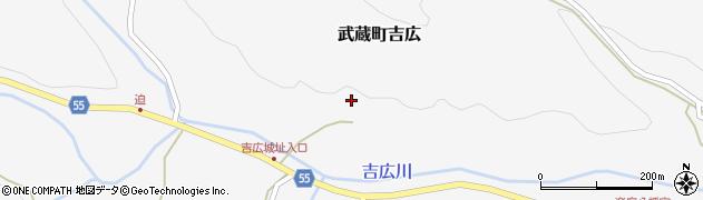 大分県国東市武蔵町吉広1544周辺の地図