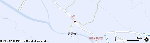 大分県国東市武蔵町麻田706周辺の地図