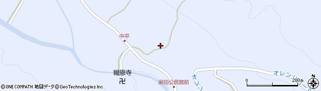 大分県国東市武蔵町麻田881周辺の地図