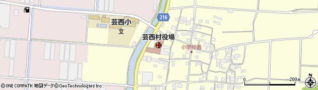 高知県安芸郡芸西村周辺の地図