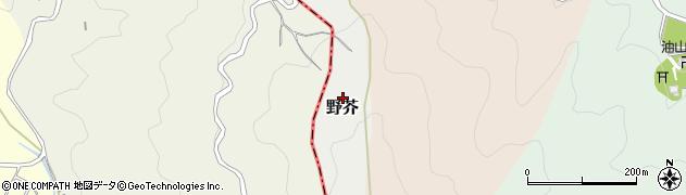 福岡県福岡市城南区野芥周辺の地図