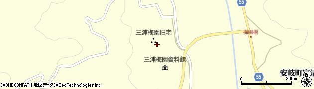 大分県国東市安岐町富清2587周辺の地図