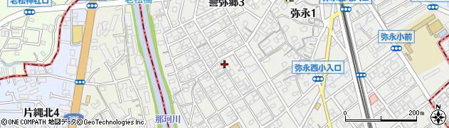 有限会社南福岡教材周辺の地図
