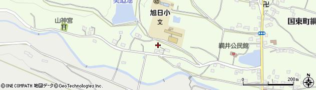 大分県国東市国東町綱井2064周辺の地図