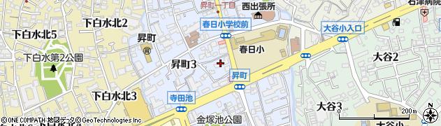 カギの110番春日代表周辺の地図