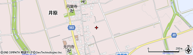 福岡県糸島市井原周辺の地図