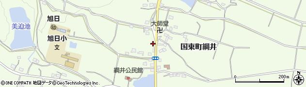 大分県国東市国東町綱井1798周辺の地図