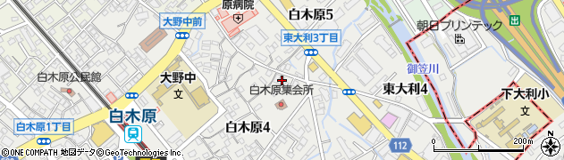 株式会社筑紫商会周辺の地図