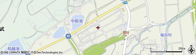 福岡県福岡市西区金武周辺の地図