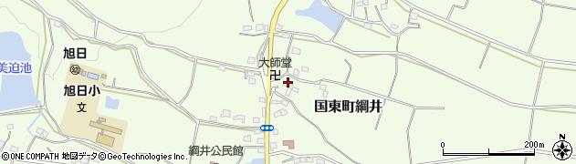 大分県国東市国東町綱井1041周辺の地図