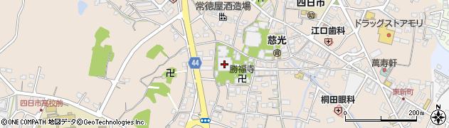 東本願寺四日市別院周辺の地図