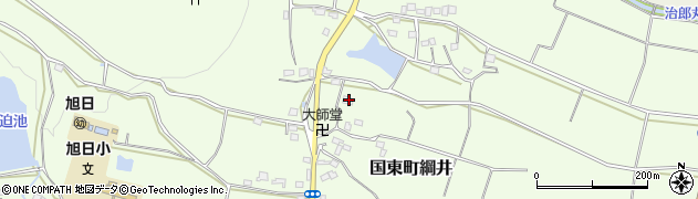 大分県国東市国東町綱井1197周辺の地図