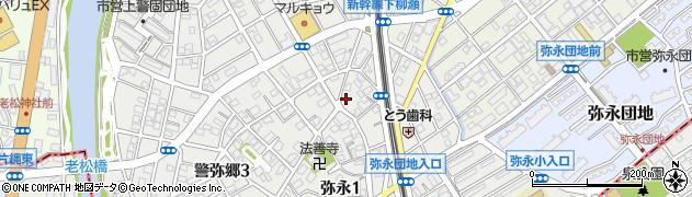 背振神社周辺の地図