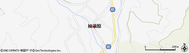 福岡県筑紫野市柚須原周辺の地図