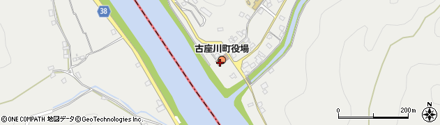 和歌山県東牟婁郡古座川町周辺の地図