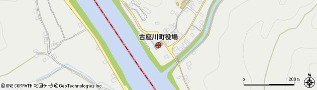 和歌山県古座川町(東牟婁郡)周辺の地図