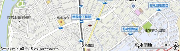 日広株式会社 福岡支店周辺の地図