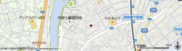 福岡県福岡市南区警弥郷周辺の地図