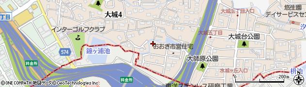 地禄神社周辺の地図