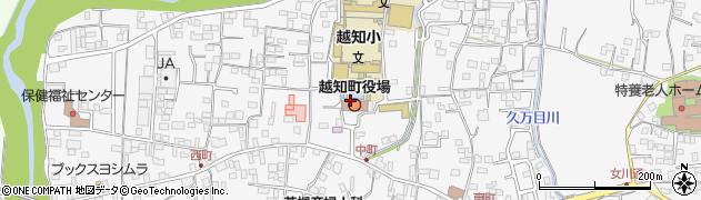 高知県高岡郡越知町周辺の地図