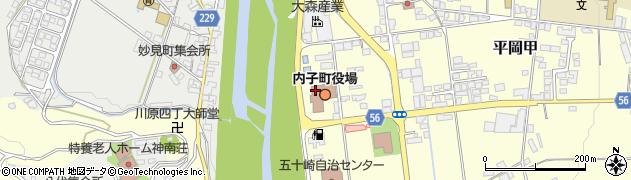 愛媛県内子町(喜多郡)周辺の地図