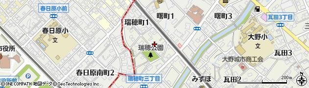 大野城市公民館 瑞穂町集会所周辺の地図