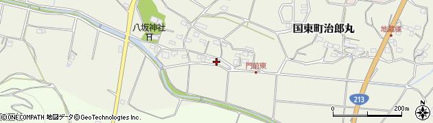 大分県国東市国東町治郎丸655周辺の地図