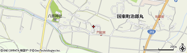 大分県国東市国東町治郎丸672周辺の地図