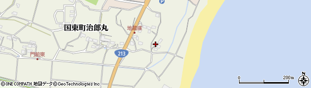 大分県国東市国東町治郎丸18周辺の地図