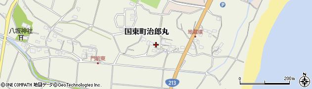 大分県国東市国東町治郎丸111周辺の地図