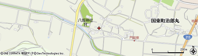 大分県国東市国東町治郎丸623周辺の地図
