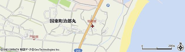 大分県国東市国東町治郎丸148周辺の地図